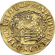 1 Goldgulden -  Johann and Heinrich XXII – reverse