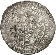 1 Thaler - Ludwig II., Heinrich XXI., Albrecht Georg & Christof I. – obverse