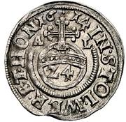 1 Groschen - Heinrich XXII & Wolfgang Georg – reverse