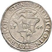 1 Thaler - Ludwig II. – obverse
