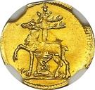⅛ Ducat - Justus Christian I. – reverse