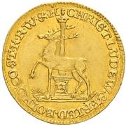 ½ Ducat - Christoff Ludwig II & Friedrich Botho – obverse