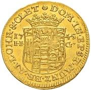 ½ Ducat - Christoff Ludwig II & Friedrich Botho – reverse