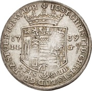 ⅓ Thaler - Jost Christian and Christof Ludwig II – obverse