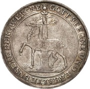 ⅓ Thaler - Jost Christian and Christof Ludwig II – reverse