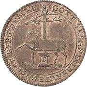 ⅙ Thaler - Karl Ludwig and Heinrich Christian Friedrich – reverse