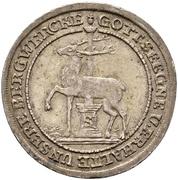 ⅙ Thaler - Jost Christian and Christof Ludwig II. – reverse