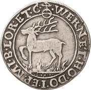 ¼ Thaler - Wolfgang Georg – reverse