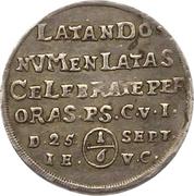 ⅙ Thaler - Christof Ludwig II and Friedrich Botho – reverse