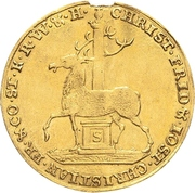 2 Ducat - Christof Friedrich and Jost Christian – obverse