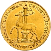 2 Ducat - Christof Ludwig II and Friedrich Botho – obverse