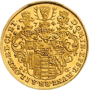 2 Ducat - Christof Ludwig II and Friedrich Botho – reverse