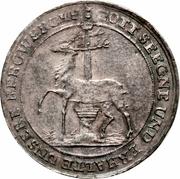 ⅓ Thaler - Christof Ludwig II & Friedrich Botho – reverse