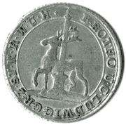 "1/12 Thaler - Friedrich Botho and Karl Ludwig (with ""C"") – obverse"