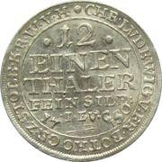 1/12 Thaler - Christoph Ludwig II, Friedrich Botho – obverse