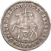 1/24 Thaler - Christof Friedrich and Jost Christian (Reformation) – obverse