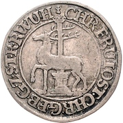 1/12 Thaler - Christof Friedrich and Jost Christian – obverse