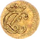1/16 Ducat - Christof Ludwig II. – obverse