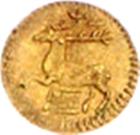 1/16 Ducat - Christof Ludwig II. – reverse