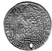 ⅓ Thaler - Ernst and Ludwig Christian – obverse