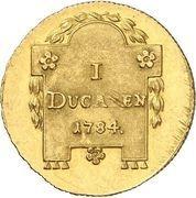 1 Ducat - Christian Friedrich – reverse