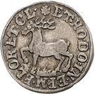 1 Groschen - Heinrich Ernst I. – reverse