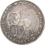 ¼ Thaler - Christian Ernst I. – obverse
