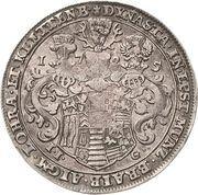 ¼ Thaler - Christian Ernst I. – reverse