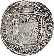 ⅙ Thaler - Heinrich Ernst I. – obverse