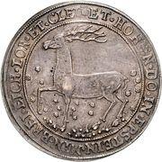 1 Thaler - Heinrich Ernst I – reverse