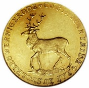 1 Ducat - Christian Friedrich (Golden wedding) – obverse