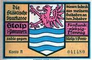 75 Pfennig (Städtische Sparkasse) – obverse