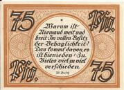 75 Pfennig -  reverse