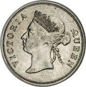 50 Cents - Victoria – obverse