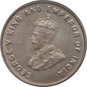 5 Cents - George V – obverse