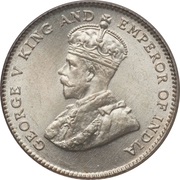 10 Cents - George V -  obverse