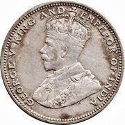 20 Cents - George V – obverse