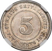 5 Cents - Victoria – reverse