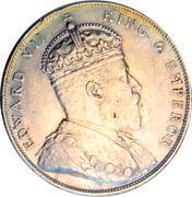 1 Dollar - Edward VII -  obverse