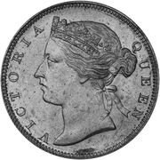 ½ Cent - Victoria (Trial Strike) – obverse
