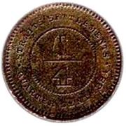 ¼ Cent - Victoria – reverse