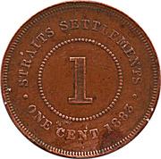1 Cent - Victoria -  reverse