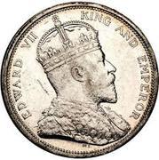 1 Dollar - Edward VII – obverse