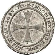 ⅓ Thaler (Swedish Occupation) – reverse