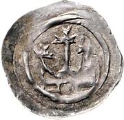 1 Pfennig - Bertold von Teck – reverse