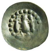1 Pfennig - Konrad III. Von Lichtenberg – obverse