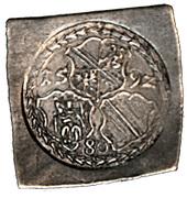 1 Thaler, 80 Kreuzer - Georg of Brandenburg – obverse