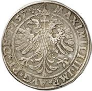 1 Thaler - Johann von Manderscheid-Blankenheim – reverse