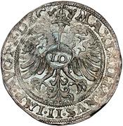 10 Kreuzer - Johann von Manderscheid-Blankenheim – reverse