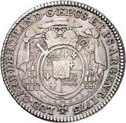 20 Kreuzer - Ludwig Constantin von Rohan-Guéménée – obverse